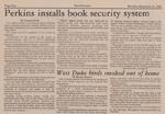 Duke Chronicle article, September 15, 1980.
