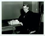 President William Preston Few in robes.